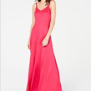 INC Scoop Neck Maxi Dress